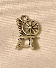 1719. Spinning Wheel Pendant