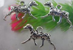 192. Dalmatian Dog Pendant