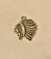 606. Indian Head Pendant