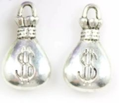774. 3D Money Bag Pendant