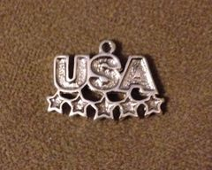 790. USA with 5 Stars Pendant