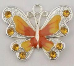 657. Enameled Butterfly Pendant