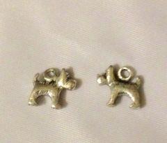 1168. 3D Small Dog Pendant