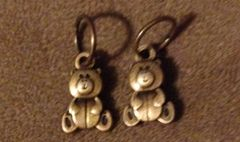 677. Bronze Teddy Bear Pendant
