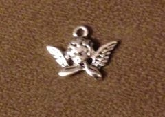 796. Angel on Elbows Pendant