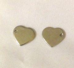 1183. Small Stainless Steel Heart Pendant