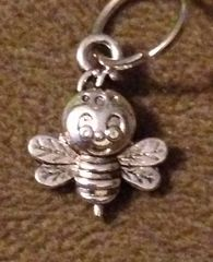 838. Bee with Face Pendant