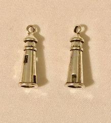 1745. 3D Lighthouse Pendant