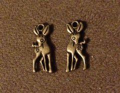 423. Bronze Deer Pendant