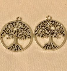 1761. Large Family Tree Pendant