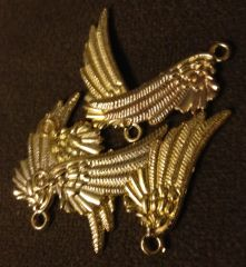 320. Golden Wing Pendant