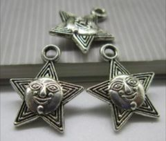 449. Star with Face Pendant