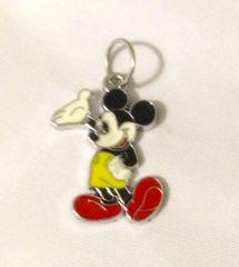 1264. Enameled Mickey Pendant