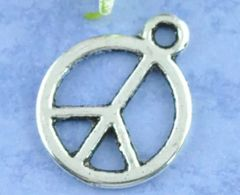 438. Small Peace sign Pendant