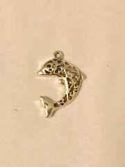 1755. Dolphin Pendant