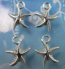 768. 3D Starfish Pendant