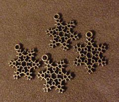 426. Bronze Snowflake Pendant