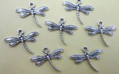 647. Dragonfly with Angled Tail Pendant