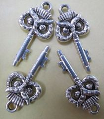 202. Owl Key Pendant