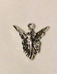 730. Open Winged Fairy Pendant