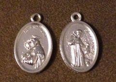 1097. Saint Anthony Saint Francis Pendant
