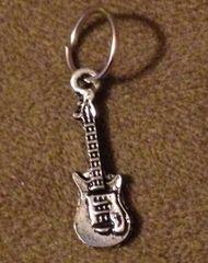 861. Small Guitar Pendant