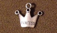 626. Princess Crown Pendant