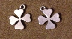 698. Solid Four Leaf Clover Pendant