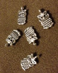 207. Small Owl Pendant