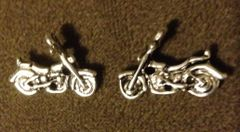 369. 3D Motorcycle Pendant