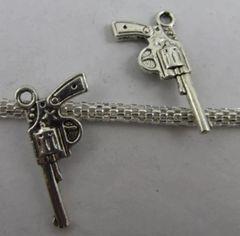 156. Revolver Gun Pendant
