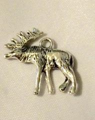 1321. 3D Moose Pendant