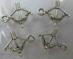 44. Bow and Arrow Archery Pendant