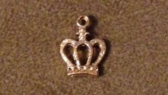 629. Gold Royal Crown Pendant