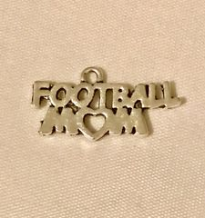 1701. Football Mom Pendant