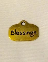 1391. Golden Blessings Pendant