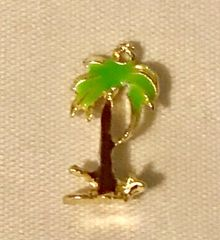 1778. Palm Tree Pendant