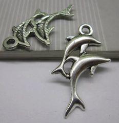 28. Double Dolphin Pendant