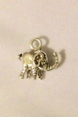 1429. 2 sided Elephant Pendant