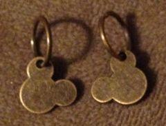 926. Bronze Mickey Pendant