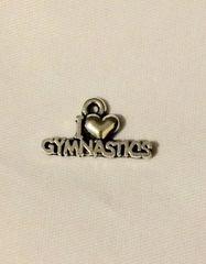 561. I Love Gymnastics Pendant