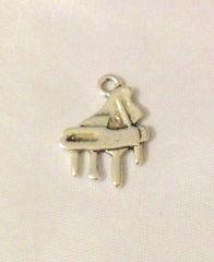1287. Silver Piano Pendant