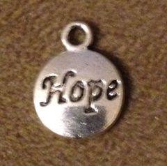 981. Round Hope Pendant