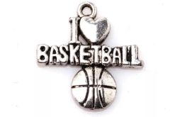 51. I love Basketball Pendant