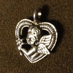 316. Angel in Heart Pendant