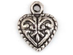 30. Small Puffy Heart Pendant