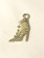 912. High Heel Boot Shoe Pendant