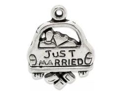 243. 'Just Married' Car Pendant