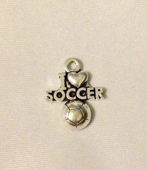 501. I love soccer Pendant