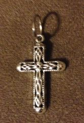 344. Silver Cross Pendant